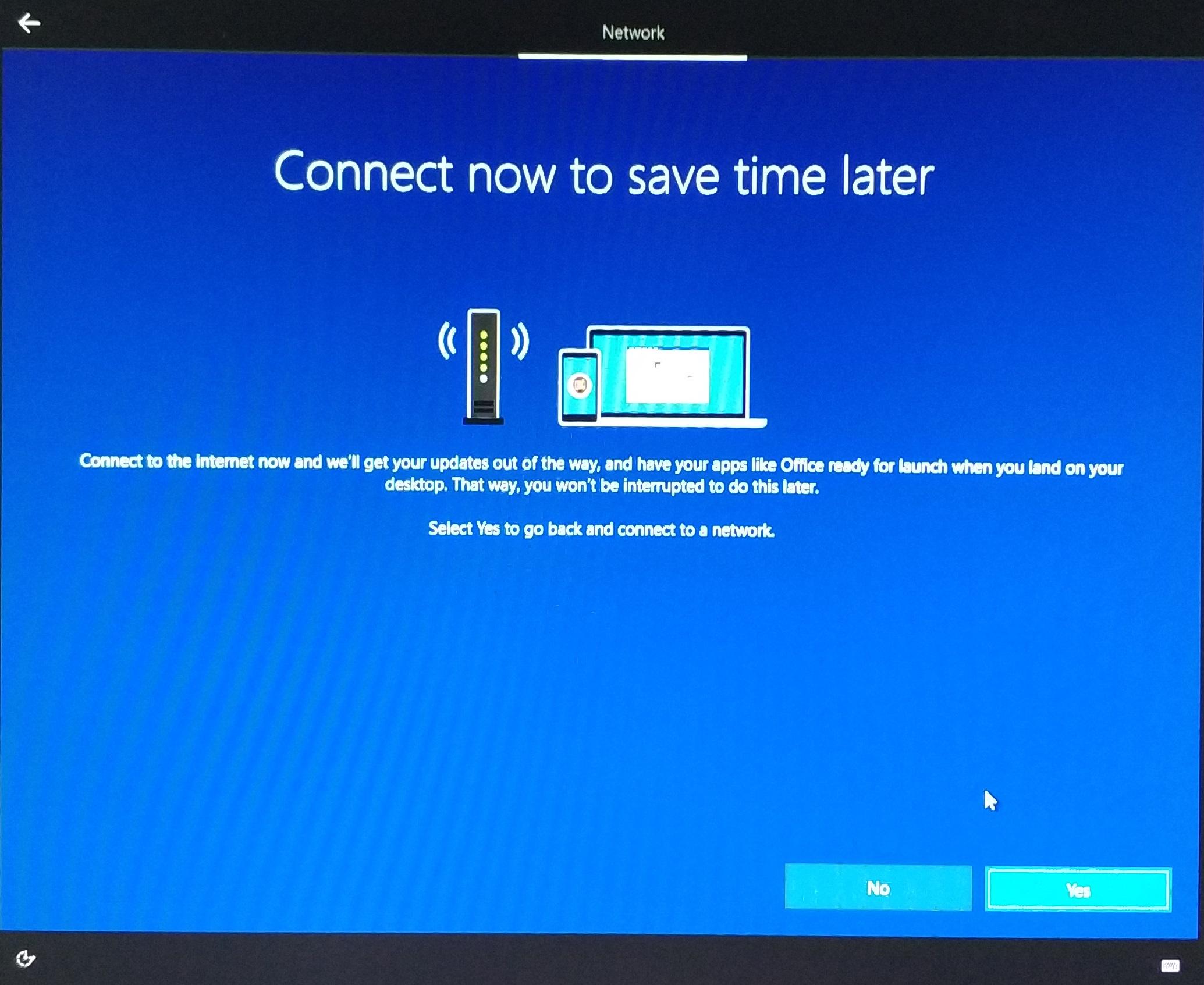 Пятое окно второго этапа установки Windows