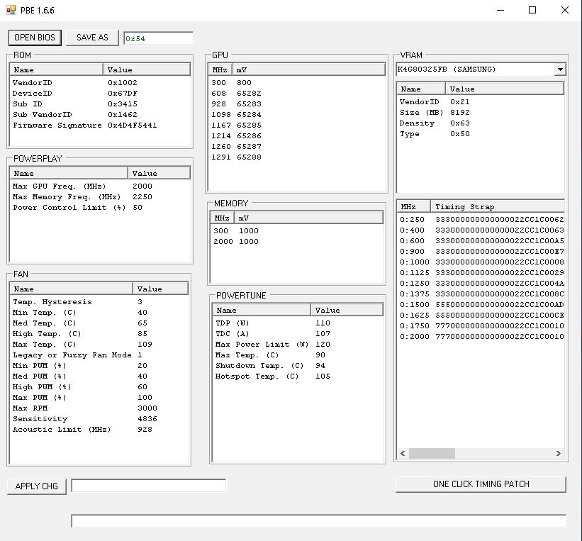 PolarisBIOSEditor открытый BIOS