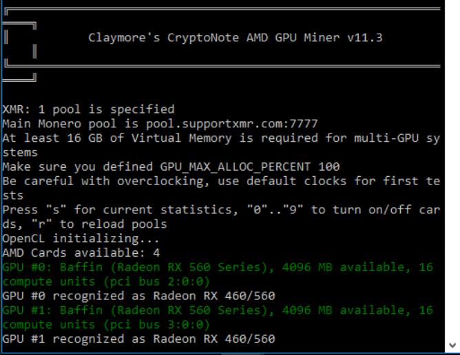Claymore CryptoNight GPU Miner